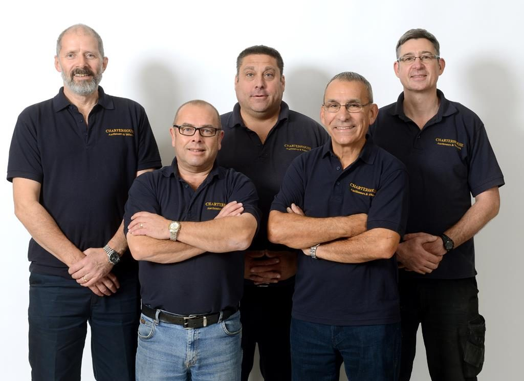 David 'Newt' Newton, David Sims, Dan Peacock, Johnny Villas and Rupert Heale